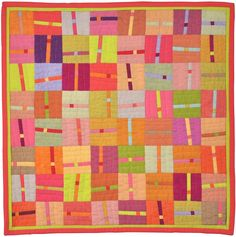 Connections by Alex Anderson, offered in the current celebrity auction of Alzheimer's Art Quilt Initiative: http://www.benefitbidding.com/listings/details/index.cfm?itemnum=1035769403#