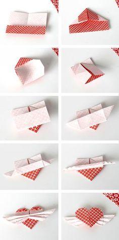 Diy Origami Heart Cupcake Topper Tutorial By Vitamini Handmade
