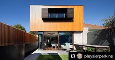 #Repost @pleysierperkins. Embracing this very welcome sunshine in Melbourne at Middle Park 2 Residence Renovation// #PleysierPerkins #MelbourneArchitecture #MelbourneArchitects #AustralianArchitecture #Architecture #ArchiLovers #MiddlePark :Brendan Finn : Bakka Constructions