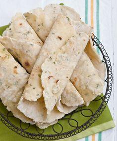 Gluten Free Tortilla Wraps Recipe