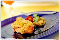 Fit Food Ideas: Receita do Chef: Salmão em crosta de Maracujá