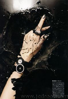 Jed Root - Manicurists - Hiro - Beauty - Harper's Bazaar Japan, Kanji Ishii