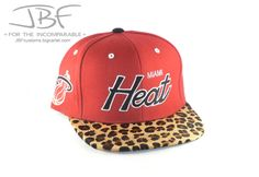 Leopard Printed Heat Strapback hat only $205