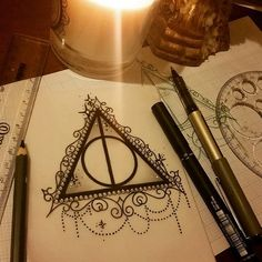 Minimalist harry potter tattoos that are pure magic 46