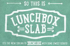 Lunchbox Slab by Kimmy Design on Creative Market