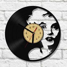 Vinyl Clock - Marilyn Monroe