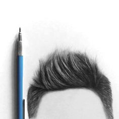 Drawing Realistic Hair with Pencil