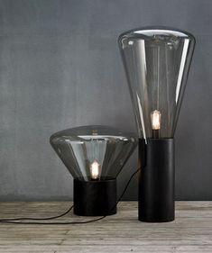 Kugis Lamp Design: Table Lamps, Broki Muffins, Lights Black, A Lights, F Lamps, Beautyful Lights, Black Oak, Tables Lamps, Muffins Lights Series Large08