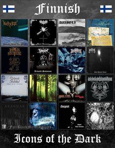Somehow underrated Finnish Black Metal! Black Metal, Rock Y Metal, Metal Shirts, Culture Album, Metal Meme, Extreme Metal, Metal Albums, Metal Girl, Thrash Metal