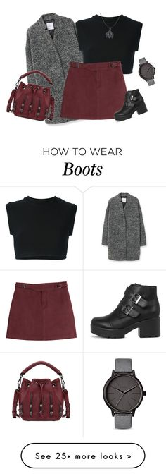 """outfit3415"" by natalyag on Polyvore featuring MANGO, adidas Originals, Marc by Marc Jacobs, Nixon, women's clothing, women, female, woman, misses and juniors"