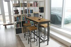 Binnenkijken 1or2 Cafe : High top conference dining table faculty room pinterest high