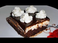 Πάστα Ταψιού με Γκανάς Σοκολάτας Η Πάστα της Σόφης Τσιώπου - YouTube
