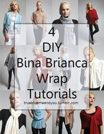 DIY Scarf Kimono Tutorial from Dat Zit Wel Snor.Easiest and best explained tutorial I've seen for this summer staple - the scarf kimono.    Mini Kimono Roundup here.