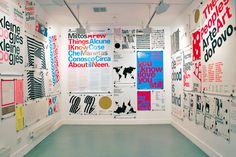 Experimental Jetset – Ten Years of Posters @Kemistry Gallery, London[2006]