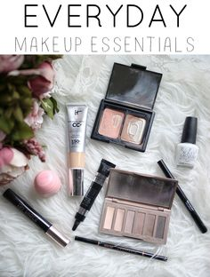 Everyday makeup routine and essentials | makeup routines for busy moms | makeup must haves | everyday makeup routines | makeup for moms || Katie Did What