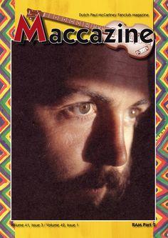 Maccazine – RAM special, part 2. Volume 41 number 3, 2013, volume 42 number 1, 2014 (double edition). Paul McCartney Fanclub – www.mccartneymaccazine.com