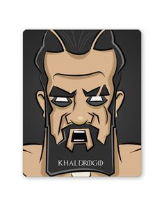 Khal Drogo   Game Of Thrones Mouse Pad