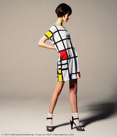 Piet Mondrian dress, Graniph Tees, $25.