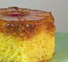 I remember my mom making Pineapple Up-Side down Cake. I loved it! I loved the super-sweet and moist topping with it's embedded fruit. I love...