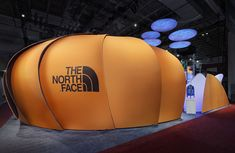 The North Face at Outdoor Retailer 2011 This 100' x 60' space won Best in Show, and a MOD AWARD for Best Green Design.