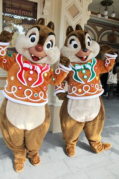 Chip and Dale Hong Kong Disneyland