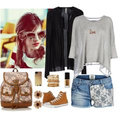 Designer Clothes, Shoes & Bags for Women Old School, Polyvore, Image, Fashion, Moda, Fashion Styles, Fasion