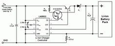 schematics  usb battery charger