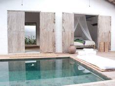 Casa Lola- piscine et bois