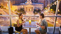 best rooftop bars in Washington, DC Discover Washington, DC's best bars with a view at these outdoor drinking establishments. Watch a sunset or admire the skyline with a cocktail in hand. Viaje A Washington Dc, Washington Dc Travel, Washington Dc Restaurants, Places To Travel, Places To Go, Travel Destinations, Vacation Places, Voyage Usa, Washing Dc