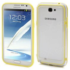 Quantity: 1 Piece; Color: Yellow + translucent white; Material: ABS + silicone; Compatible Models: Samsung Galaxy Note 2 N7100; Other Features: Protects your device from scratches, shock and dust; Packing List: 1 x Case; http://j.mp/Vzi8CM