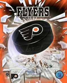 Philadelphia Flyers 2005 - Logo / Puck Photo at AllPosters.com