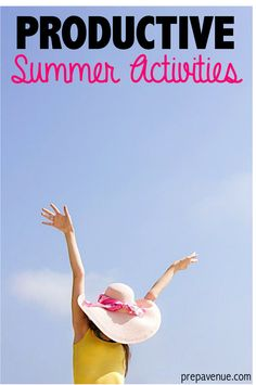 Productive Summer Activities | www.prepavenue.com