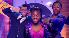 Charlie and the Chocolate Factory the musical on CBBC's Blue Peter