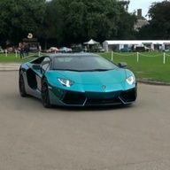 Lamborghini Aventador in Turquoise! who likes it?