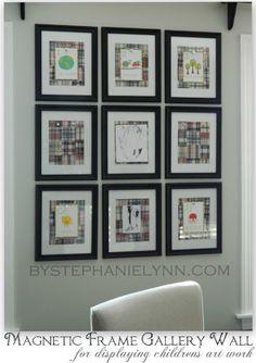 displaying artwork