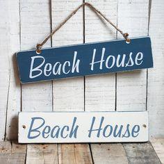 Custom+Beach+House+Sign+.+Rustic+Nautical+by+UtopiaHomeAndGarden,+£30.00