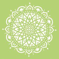Kaisercraft+-+12+x+12+Stencils+Template+-+Mandala+at+Scrapbook.com