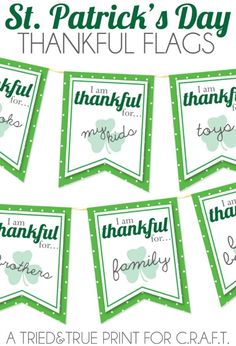 10 Free #Printables for St. Patrick's Day to Download for a Roaring Party ...