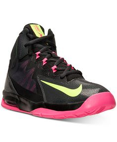 Nike Girls  Air Max Stutter Step 2 Basketball Sneakers from Finish Line  Kids - Finish Line Athletic Shoes - Macy s 365cf0183f7