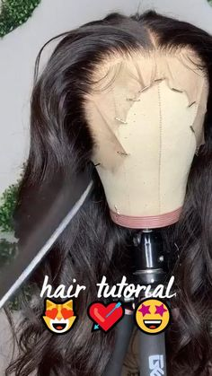 Body Wave Wig, Human Hair Wigs, Ponytail, Waves, Long Hair Styles, Hairstyles, Beauty, Haircuts, Hairdos