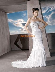 Hala Mašle Přírodní Svatební šaty 2013