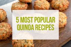 Try one of our five most popular quinoa recipes that readers are making this month!