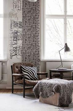 my scandinavian home: Swedish calligrapher Ylva Skarp's cosy winter home
