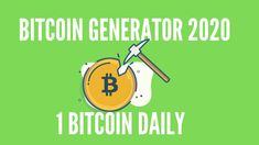 BITCOIN GENERATOR 2020💰 + PAYMENT PROOF ✅ LEGIT 2020 Bitcoin Mining Software, Free Bitcoin Mining, What Is Bitcoin Mining, Bitcoin Miner, Earn More Money, Make Money Online, How To Make Money, Bitcoin Generator, Mining Pool