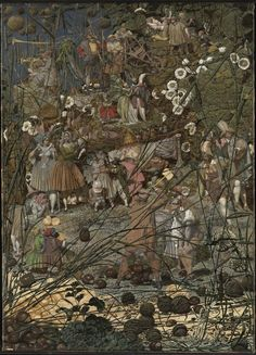 The Fairy Feller's Master-Stroke, by Richard Dadd This work, although unfinished, is generally considered to be Dadd's masterpiece. It was painted for H.G. Haydon, an official at Bethlem Hospital,...