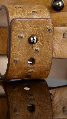 Detachable Ostrich Leather Umbrella Strap | Burberry