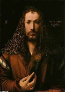 Albrecht Durer - Self-Portrait at the Age of Twenty Eight
