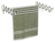 Wall Mounted Clothes Drying Rack Accordion Contemporary Dryer Racks The Container Laundry