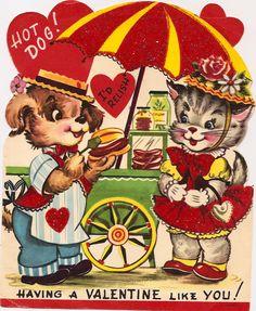 Hot Dog Relish Valentine | by changoblanco