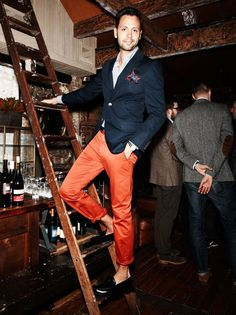 Orange Pants!